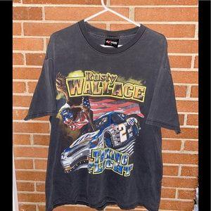 Vintage rusty Wallace shirt